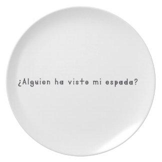 Spanish-Sword Plate