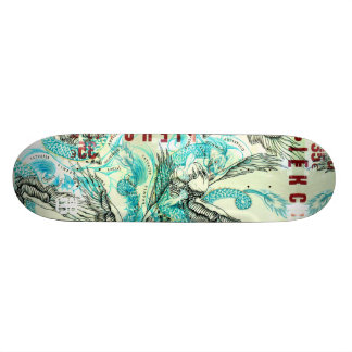 Spanish Tattoo Brawl Skate Deck