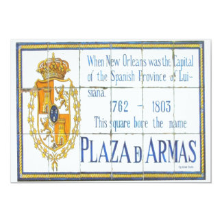 Spanish Tile 3 13 Cm X 18 Cm Invitation Card