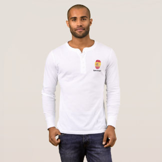 Spanish touch fingerprint flag T-Shirt
