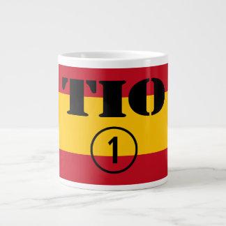 Spanish Uncles : Tio Numero Uno Large Coffee Mug