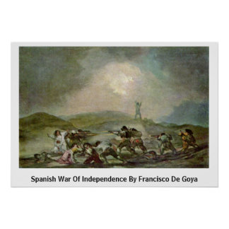 Spanish War Of Independence By Francisco De Goya Print
