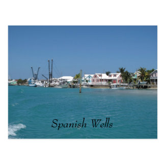 Spanish Wells,Bahamas Postcard