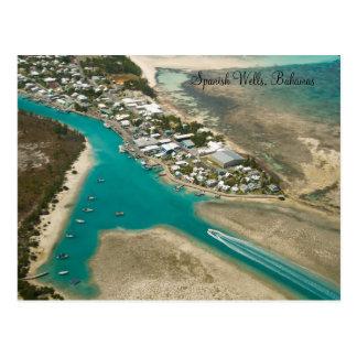 Spanish Wells, Bahamas Postcard