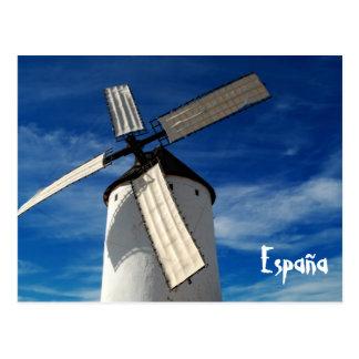 Spanish windmill Postcard