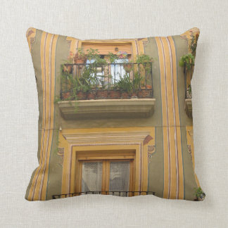 Spanish Windows Throw Cushion 41 cm x 41 cm