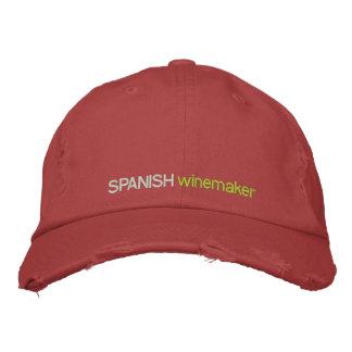 SPANISH WINE MAKER, SPANISH  WINE INDUSTRY HAT BASEBALL CAP