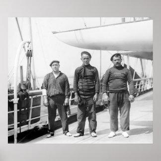 Spanish Yachtsmen Print