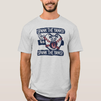 Spank the Yanks Outrageous Baseball T-Shirt