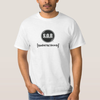 Spanked Out Records™ T-Shirt (Large Logo)