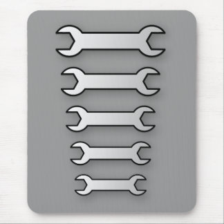 Spanners Mouse Pad