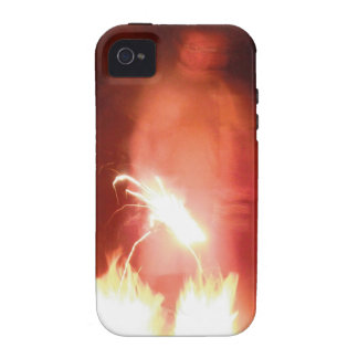 Sparagmos Transition Fire Demon Angel Colored Case-Mate iPhone 4 Case