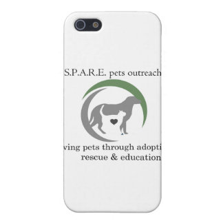 SPARE logo iPhone 5/5S Case