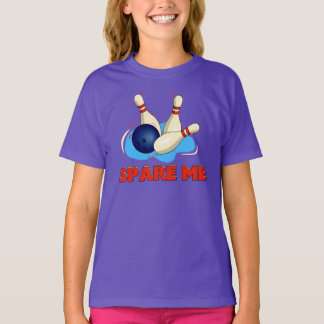 SPARE Me fun GRAPHIC BOWLING Tee