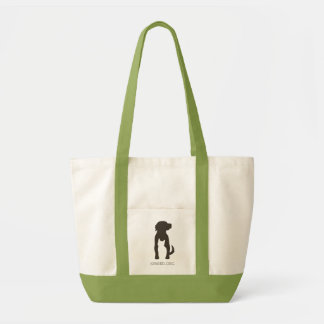 SPARED tote, green Impulse Tote Bag