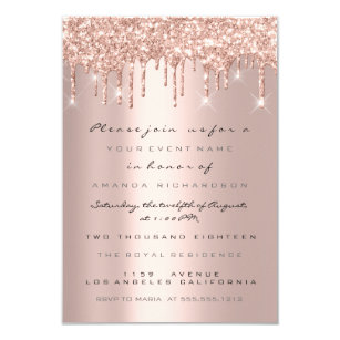 Metallic Wedding Invitations Zazzle Com Au
