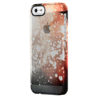 Spark Iphone marries Clear iPhone SE/5/5s Case