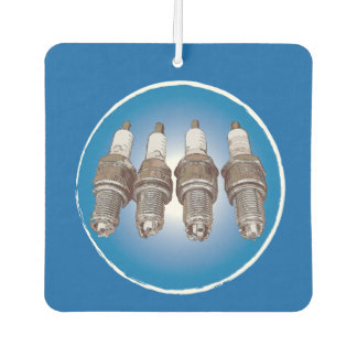 Spark plugs of the engine