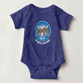 Spark plugs of the engine baby bodysuit