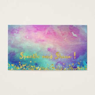 Sparkle and Shine Business Cards