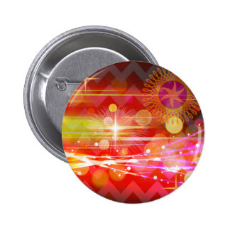 Sparkle and Shine Chevron Light Rays Abstract Button