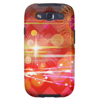 Sparkle and Shine Chevron Light Rays Abstract Galaxy S3 Cases