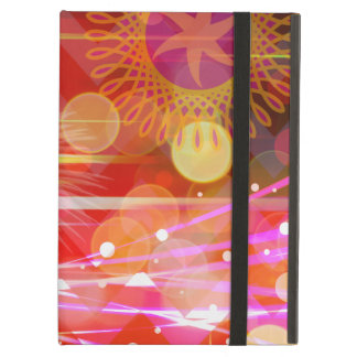 Sparkle and Shine Chevron Light Rays Abstract Cover For iPad Air