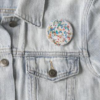 Sparkle Ball 6 Cm Round Badge