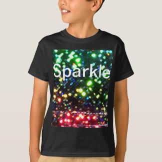 Sparkle Black Tshirt Glam Sparkly Fun Glittery