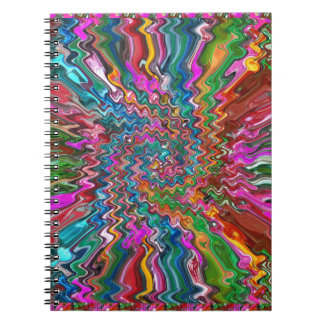 SPARKLE Colorful Shirts w Pocket Back Print Gifts Spiral Note Books