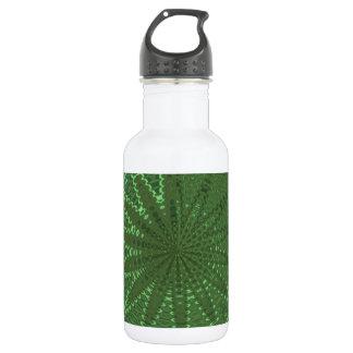 SPARKLE Emerald Green : Flower Chakra Display Deco 532 Ml Water Bottle