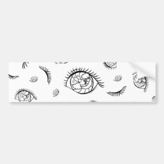 Sparkle Eyes Bumper Sticker