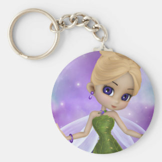 Sparkle Fairy Key Ring