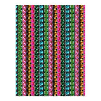 SPARKLE Gems Jewels Graphic decorative pattern gif Postcard