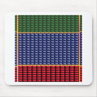 Sparkle Glitter Digital Blue Red Green Button GIFT Mousepad