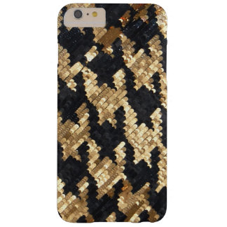 Sparkle Glitter Gold Bling Barely There iPhone 6 Plus Case