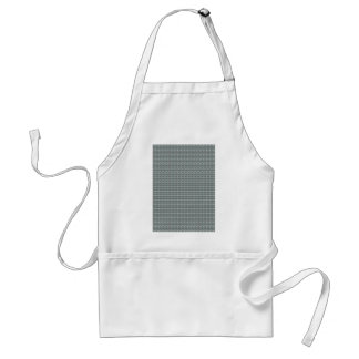 Sparkle GREY Gray Water Green Pattern Graphic Apron