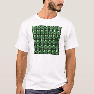 Sparkle Hexagon Emerald Green Pattern NVN289 gifts T-Shirt