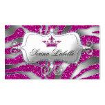 Sparkle Jewellery Zebra Crown Hot Pink 232