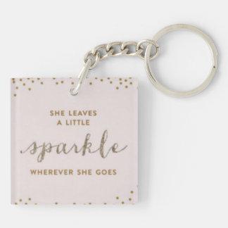 Sparkle key chain