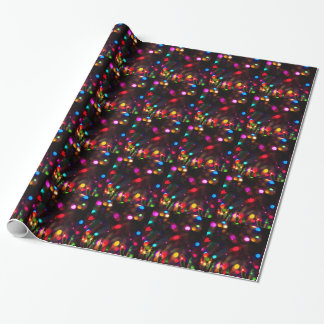 Sparkle Lights wrapping paper