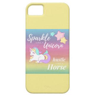 Sparkle like a Unicorn phone case