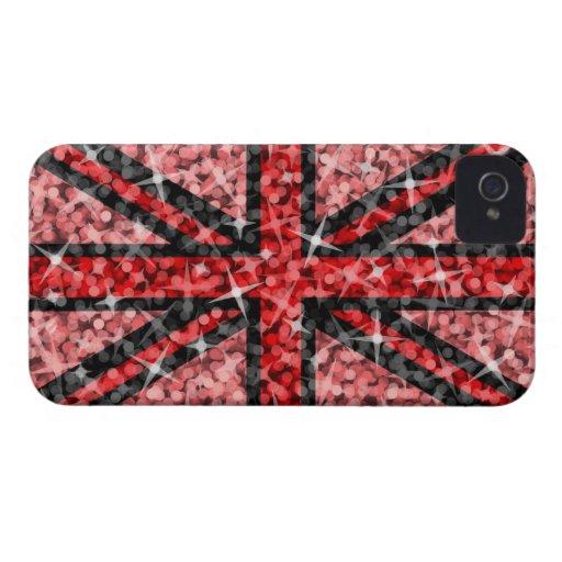 Sparkle Look UK Red Black BlackBerry Bold Blackberry Bold Case