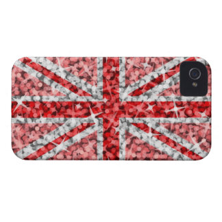 Sparkle Look UK Red BlackBerry Bold barely there iPhone 4 Covers