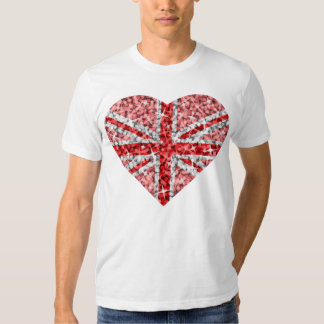 Sparkle Look UK Red Heart t-shirt white