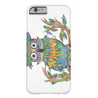 Sparkle Owl Barely There iPhone 6 Case