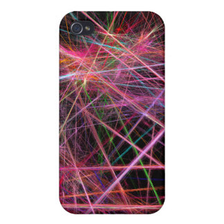 Sparkle paint splatter cover for iPhone 4