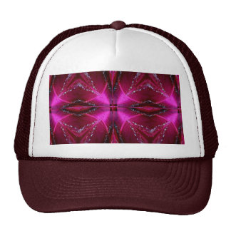 SPARKLE PINK ROSE FLOWER PETAL ART SHIRTS MESH HATS