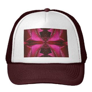 SPARKLE PINK ROSE FLOWER PETAL ART SHIRTS HATS