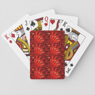 Sparkle Red Playing Cards